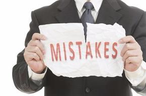 首次创业者最容易犯的十大错误,都来照照镜子吧!